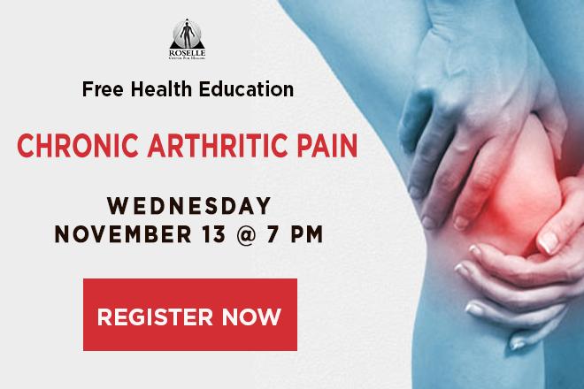 chronic arthritic pain