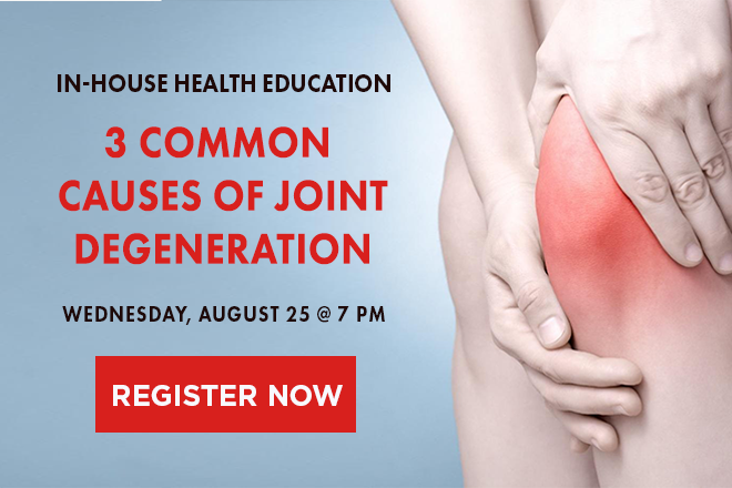 joint degeneration